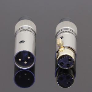 Разъем XLR (Комплект) Tchernov Cable XLR Plug Classic G Black (2 штуки)