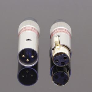 Разъем XLR (Комплект) Tchernov Cable XLR Plug Classic G Red (2 штуки)