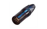 Разъем XLR (Папа) Neutrik NC5MXX-B