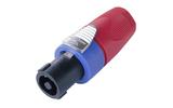 Разъем SpeakON 4-Pin Neutrik NL4FX-2 Red