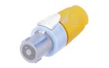 Разъем SpeakON 4-Pin Neutrik NL4FX-4 Yellow