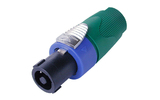 Разъем SpeakON 4-Pin Neutrik NL4FX-5 Green