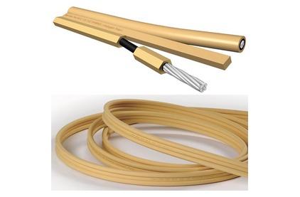 Отрезок акустического кабеля Van Den Hul (Арт. 1151) CS-122 Hybrid 0.57m