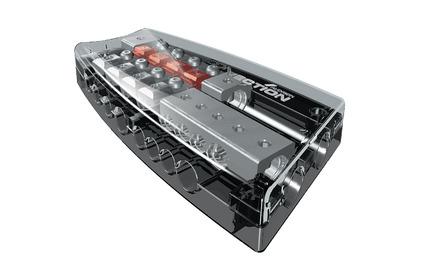 Автомобильный распределитель питания Audison Connection SFD 41C
