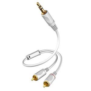 Кабель аудио 1xMini Jack - 2xRCA Eagle Cable 20071208 HIGH STANDARD Mini - 2RCA 0.8m