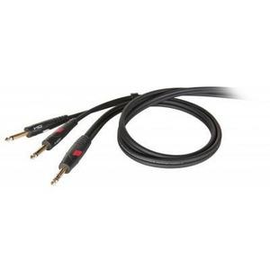 Кабель аудио 1xJack - 2xJack Die Hard DHG540LU5 5.0m
