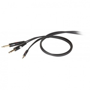 Кабель аудио 1xMini Jack - 2xJack Die Hard DHG545LU18 1.8m