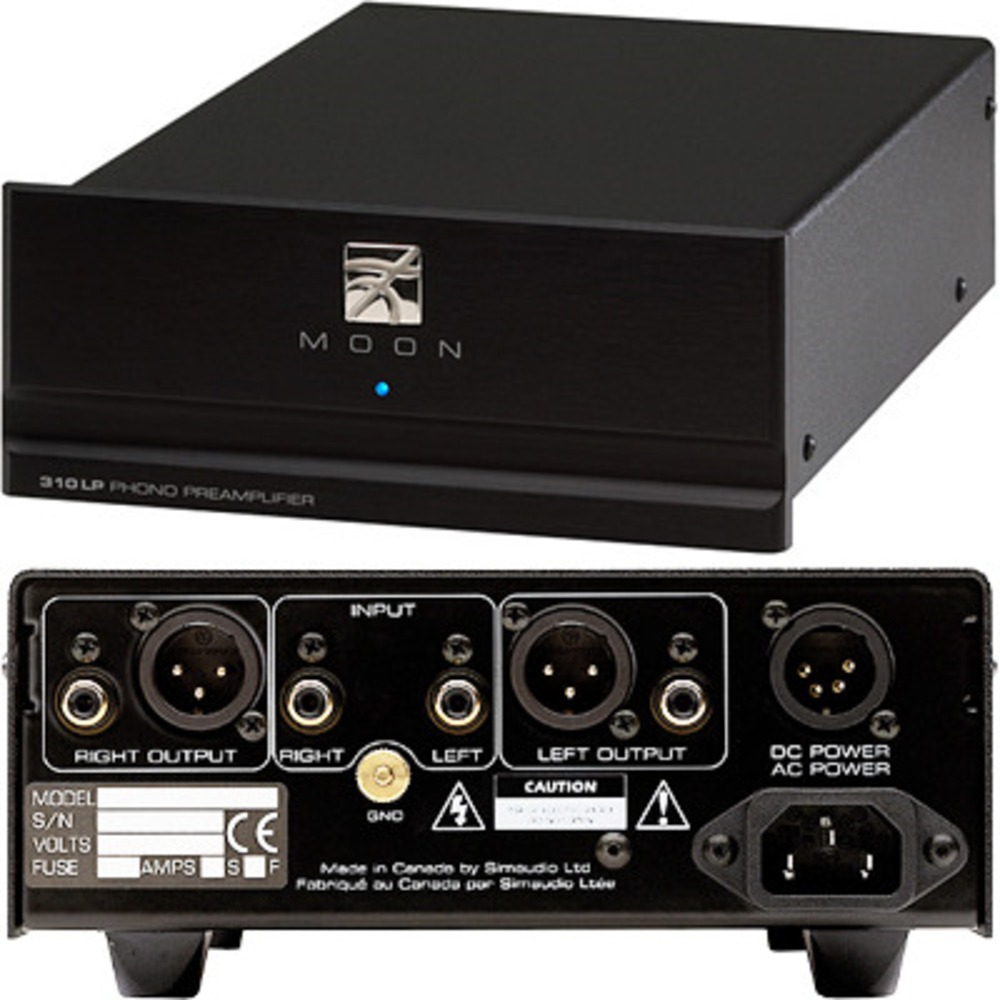 Фонокорректор MM/MC SIMaudio Moon 310LP Phono Preamplifier Black