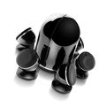 Комплект колонок Focal JMLab Dome 5.1 Pack Black