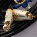 Кабель аудио 2xRCA - 2xRCA DH Labs Pro Studio Interconnect RCA 0.75m