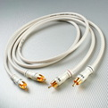Кабель аудио 2xRCA - 2xRCA DH Labs White Lightning Interconnect RCA 0.75m