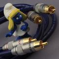 Кабель аудио 2xRCA - 2xRCA DH Labs BL-1 Interconnect RCA 0.75m