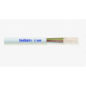 Кабель телефонный 8-и жильный Tasker C608 White