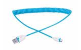 Кабель USB 2.0 Тип A - B micro Rexant 18-4302 шнур витой (1 штука) 1.5m