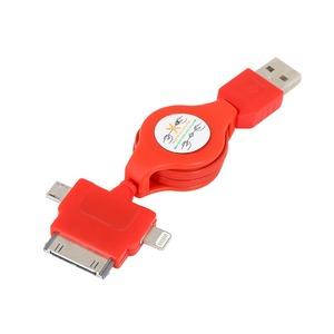 Lightning кабель Rexant 18-4055 красный (1 штука) 1.0m