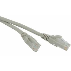 Кабель витая пара патч-корд Hyperline PC-LPM-UTP-RJ45-RJ45-C6-1.5M-LSZH-GY 1.5m