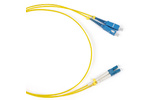 Патч-корд волоконно-оптический Hyperline FC-D2-9-LC/UR-LC/UR-H-15M-LSZH-YL 15.0m