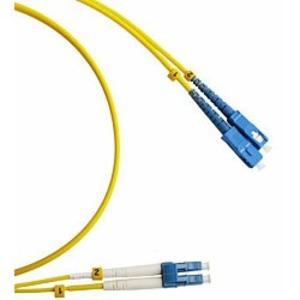 Патч-корд волоконно-оптический Hyperline FC-D2-9-LC/UR-SC/UR-H-3M-LSZH-YL 3.0m