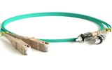 Кабель оптический патч-корд Hyperline FC-D2-504-SC/PR-ST/PR-H-10M-LSZH-AQ 10.0m