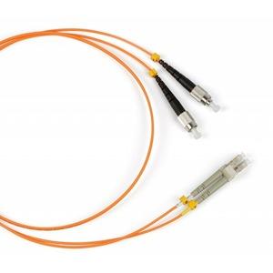 Патч-корд волоконно-оптический Hyperline FC-D2-50-FC/PR-LC/PR-H-5M-LSZH-OR 5.0m