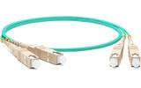 Кабель оптический патч-корд Hyperline FC-D3-504-SC/PR-SC/PR-H-5M-LSZH-AQ  5.0m