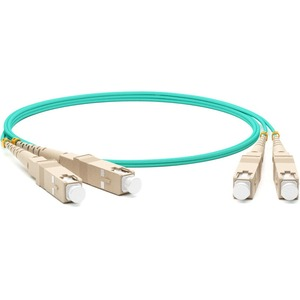 Патч-корд волоконно-оптический Hyperline FC-D3-504-SC/PR-SC/PR-H-5M-LSZH-AQ  5.0m