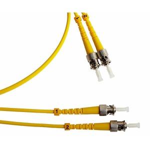 Патч-корд волоконно-оптический Hyperline FC-D3-9-ST/UR-ST/UR-H-5M-LSZH-YL 5.0m