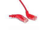 Кабель витая пара патч-корд Hyperline PC-APM-UTP-RJ45/R45-RJ45/R45-C5e-1M-LSZH-RD 1.0m