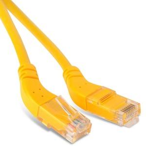Кабель витая пара патч-корд Hyperline PC-APM-UTP-RJ45/L45-RJ45/R45-C5e-5M-LSZH-YL 5.0m