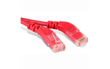 Кабель витая пара патч-корд Hyperline PC-APM-UTP-RJ45/L45-RJ45/R45-C5e-2M-LSZH-RD 2.0m