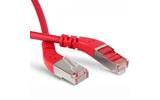 Кабель витая пара патч-корд Hyperline PC-APM-STP-RJ45/L45-RJ45/L45-C6-5M-LSZH-RD 5.0m