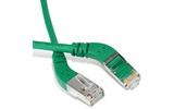 Кабель витая пара патч-корд Hyperline PC-APM-STP-RJ45/L45-RJ45/L45-C6-3M-LSZH-GN 3.0m