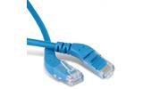 Кабель витая пара патч-корд Hyperline PC-APM-UTP-RJ45/L45-RJ45/L45-C6-3M-LSZH-BL 3.0m