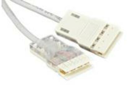 Кабель витая пара патч-корд Hyperline PC-110-110-4P-C5e-3M-LSZH-GY 3.0m