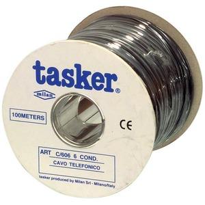 Кабель телефонный 6-и жильный Tasker C606/305 Black