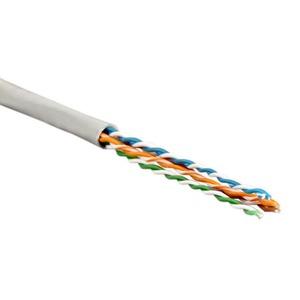 Отрезок кабеля витая пара Hyperline (арт. 1401) UTP4-C5E-SOLID-GY 3.8m