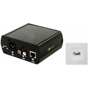 Передача по витой паре Аудио Audac WP45L/W