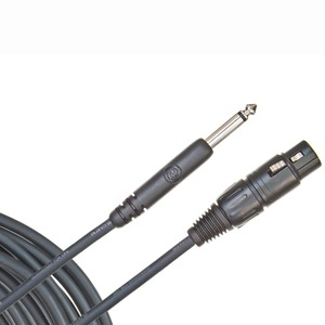 Кабель аудио 1xRCA - 1xXLR Planet Waves PW-CGMIC-25 7.62m