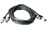 Кабель аудио 1xXLR - 1xXLR Rock-Cable RCL30306 D6 6.0m