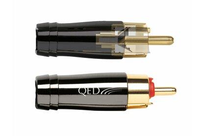 Разъем RCA (Папа) QED (QE6120) Perfomance ANAMATE RCA Red