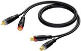 Кабель аудио 2xRCA - 2xRCA Procab REF850/1.5 1.5m