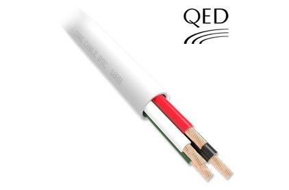 Отрезок акустического кабеля QED (арт. 1620) Professional QX16/4 PVC White 4.95m
