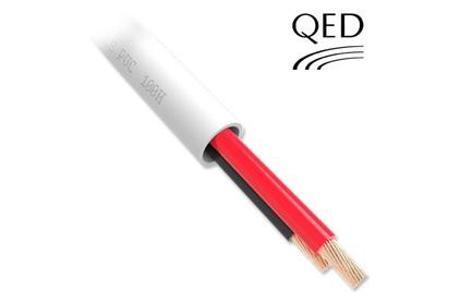 Отрезок акустического кабеля QED (арт. 1616) Professional QX16/2 PVC White 4.8m