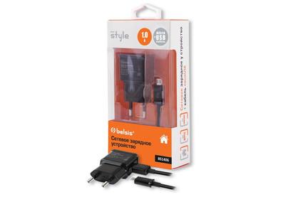 Сетевое зарядное устройство для телефона Belsis BS1406