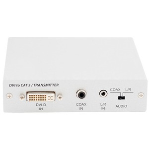 Передача по витой паре DVI, данные (RS-232) и аудио Cypress CA-DVIAT