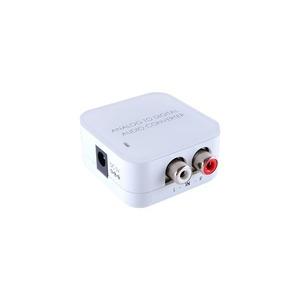 Преобразователь аналоговое стерео в цифрового стереоаудио S/PDIF (RCA и TOSLINK) Cypress DCT-4