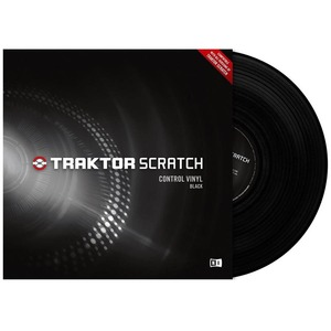 Виниловая пластинка Native Instruments Traktor Scratch Pro Control Vinyl Black