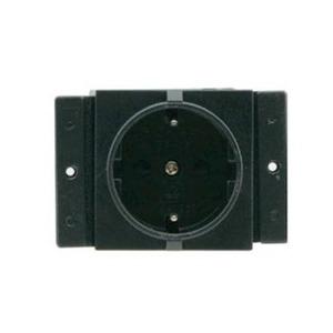 Одинарная сетевая розетка для установки в систему TBUS Kramer TS-1DE