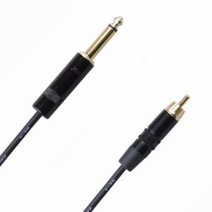 Кабель аудио 1xJack - 1xRCA Rich Pro RP600BLK 1.0m