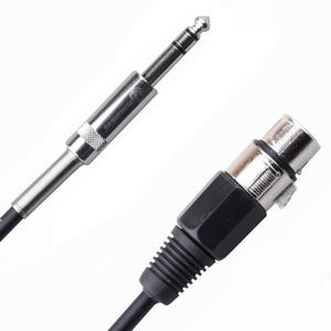Кабель аудио 1xJack - 1xXLR Rich Pro RP201BLK 10.0m